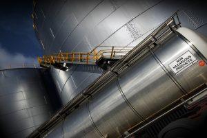 Non hazardous products storage tanks